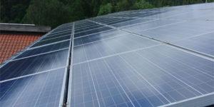 Solaranlage Dach  - 16,1 kWp
