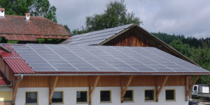 Photovoltaik-Dachanlage 24,96 kWp
