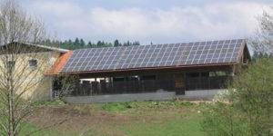Photovoltaik-Dachanlage - 24,5 kWp